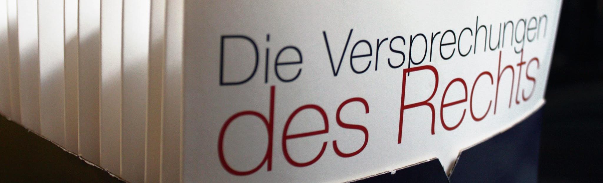 Die Versprechungen des Rechts. Die Berichterstattung zum 3. Kongress der deutschsprachigen Rechtssoziologie